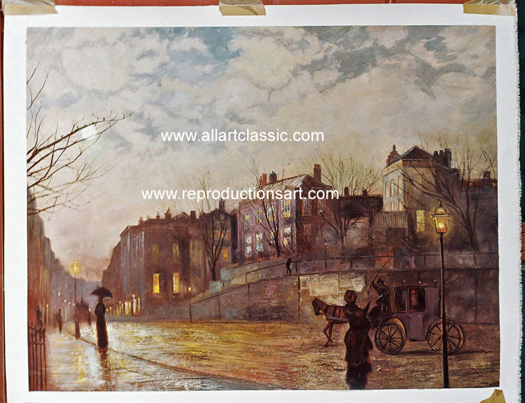 Oil Painting Reproductions of John Atkinson Grimshaw Paintings Reproductions