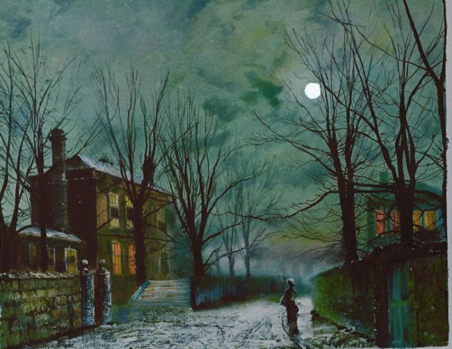 Moonlight Paintings By Famous Artists