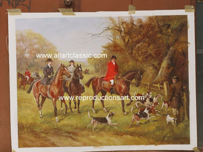 Oil Painting Reproductions of Heywood Hardy Reproductions Paintings