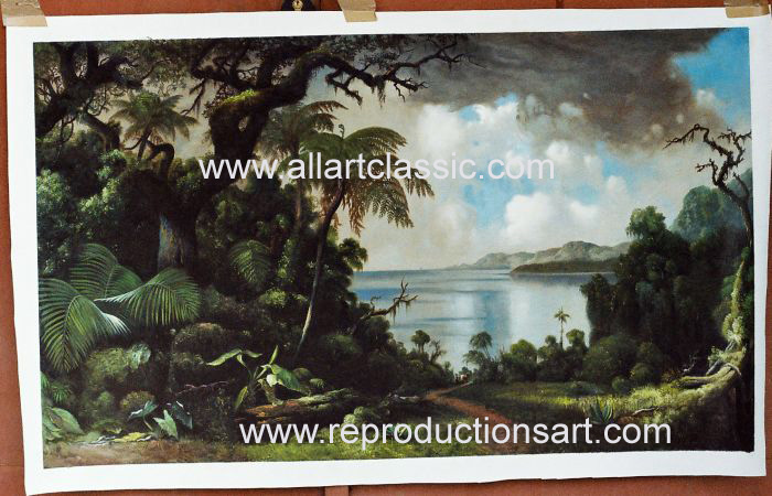 Oil Painting Reproductions of Martin Johnson Heade