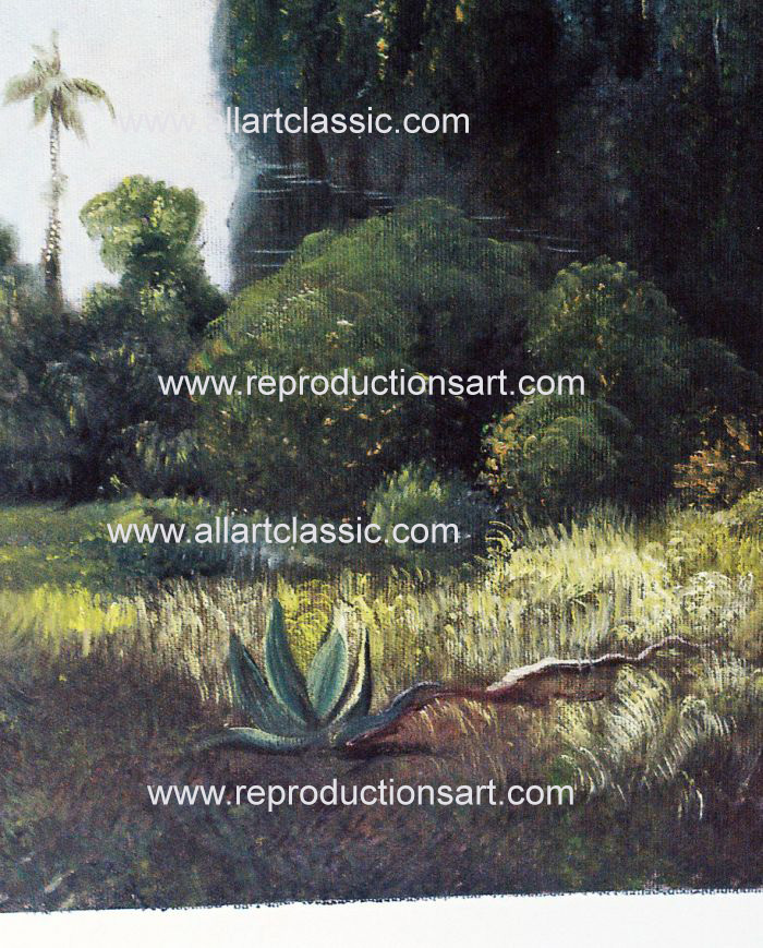 Art Reproductions Heade_077N_C. Our Oil Painting Reproduction -Zoom Details