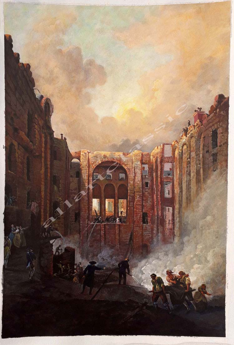 Hubert Robert Painting Work sample
