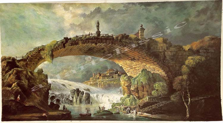 Oil Painting Reproductions of Hubert Robert