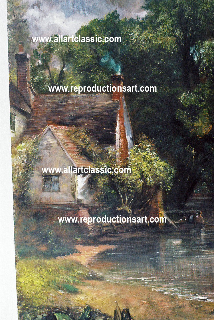 Oil Painting Reproductions Constable paintings