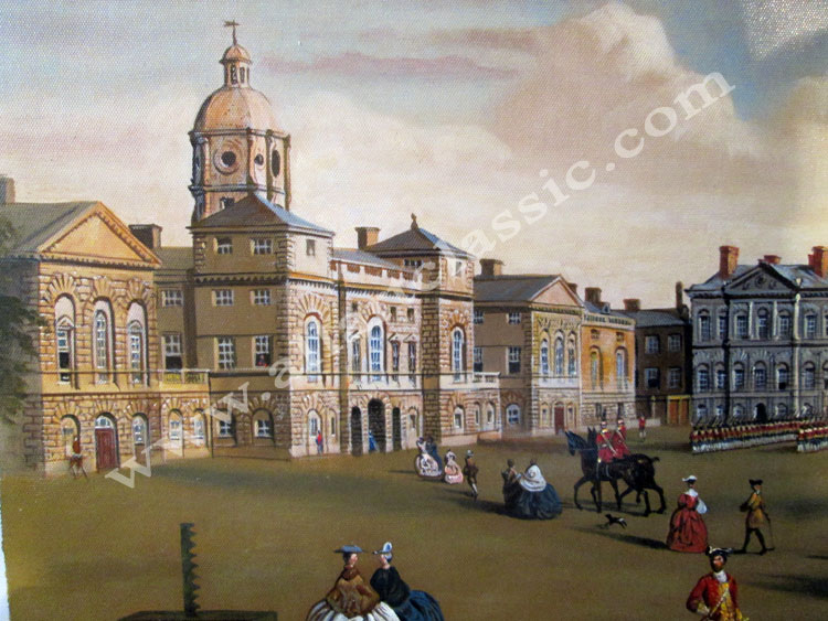 Art Reproductions John-Chapman-Paintings_L_A. Our Oil Painting Reproduction -Zoom Details
