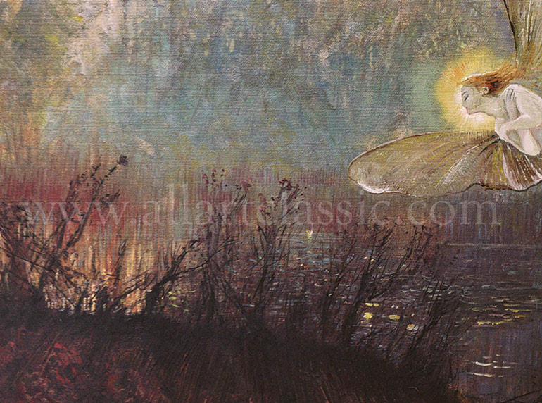 Oil Painting Reproductions Grimshaw, John Atkinson