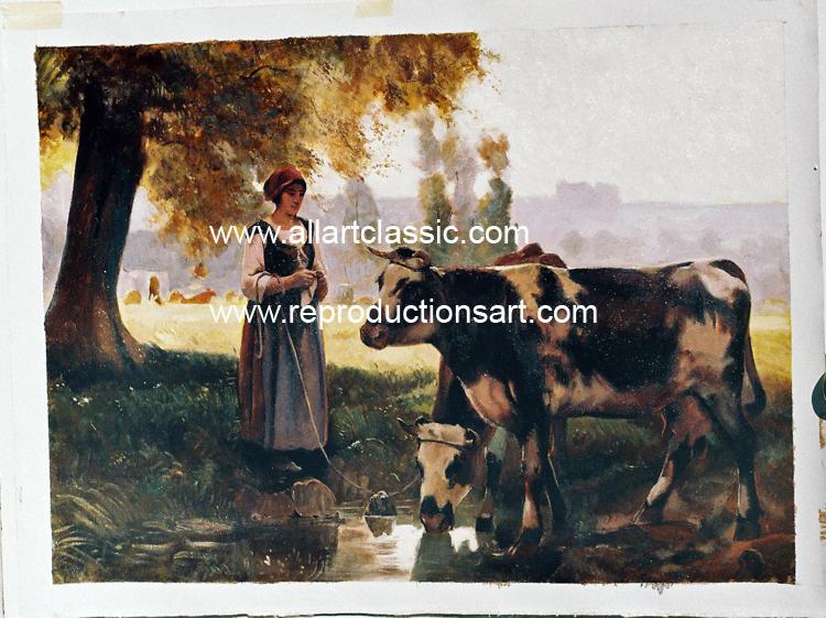 Julien Dupre Painting Work sample