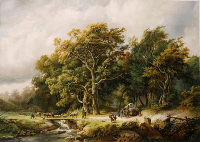 Oil Painting Reproductions of Koekkoek, Barend