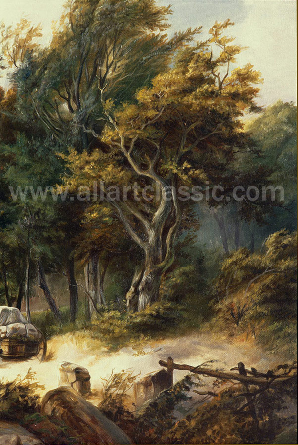 Art Reproductions KOB001N_B. Our Oil Painting Reproduction -Zoom Details