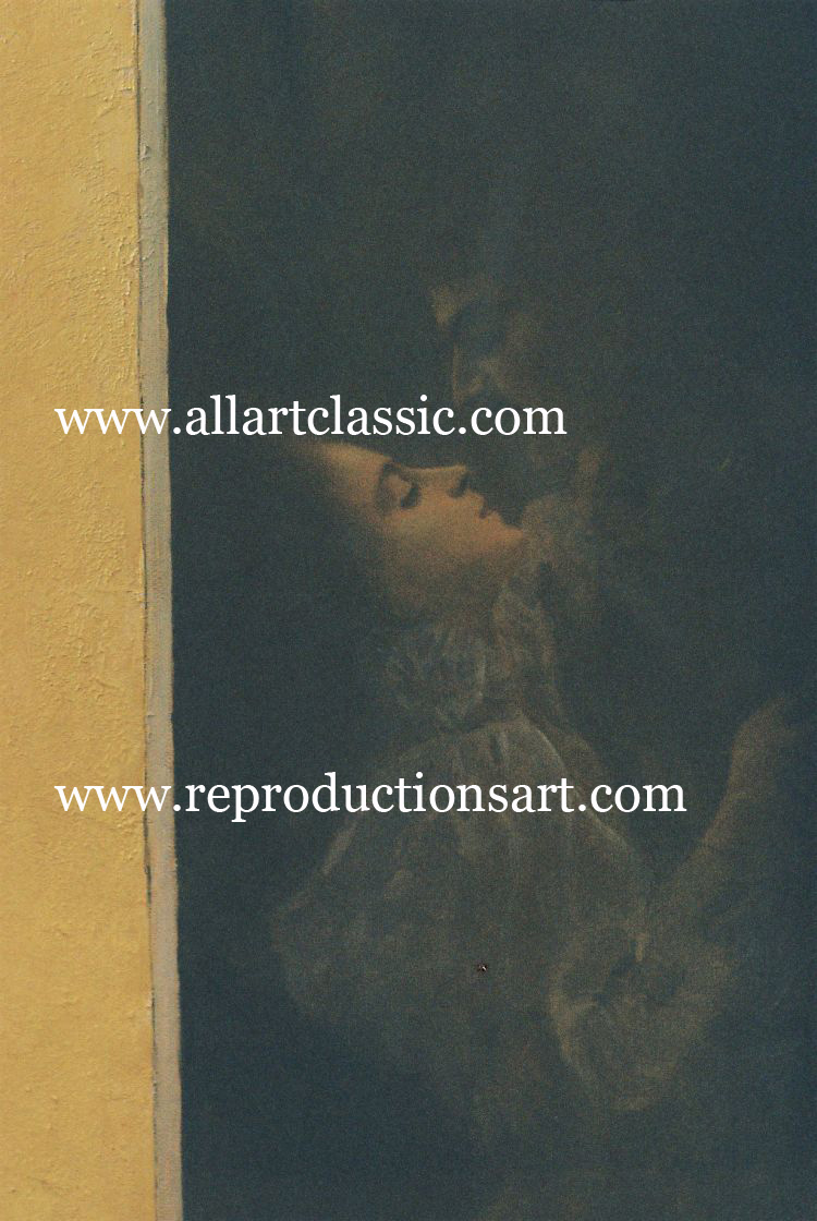 Art Reproductions Klimt-paintings_1_B. Our Oil Painting Reproduction -Zoom Details
