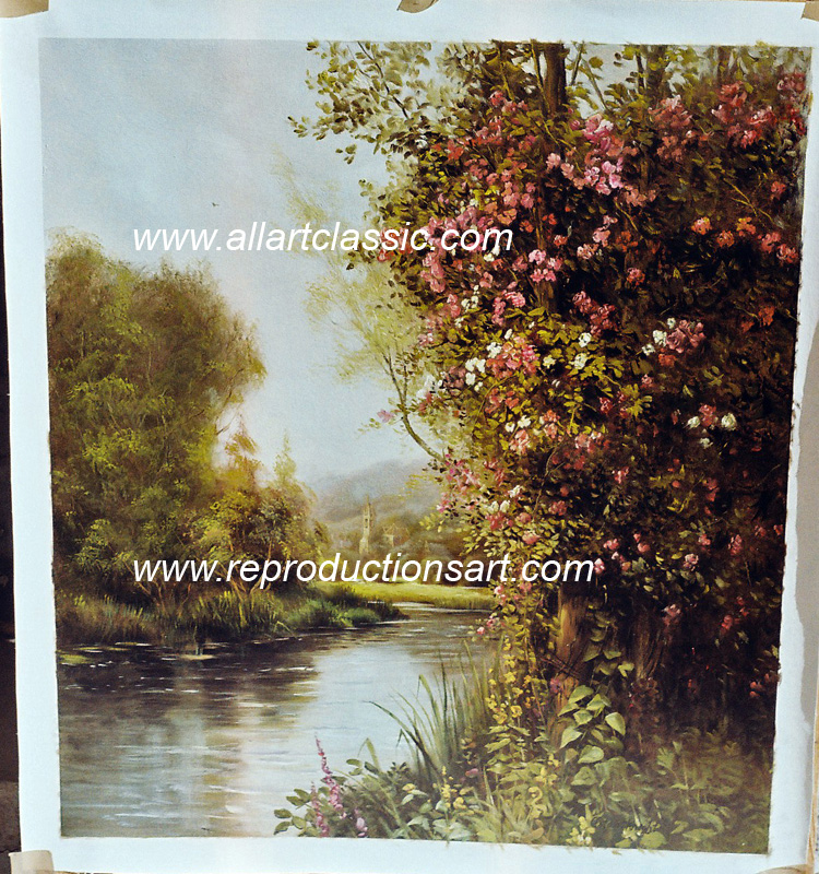 Oil Painting Reproductions of Louis Aston Knight