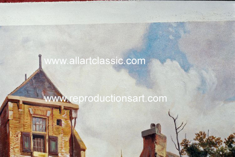 Art Reproductions Koekkoek_220N_D. Our Oil Painting Reproduction -Zoom Details