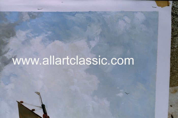Art Reproductions Landscape_001N_C. Our Oil Painting Reproduction -Zoom Details