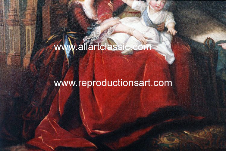 Art Reproductions Lebrun_220N_B. Our Oil Painting Reproduction -Zoom Details