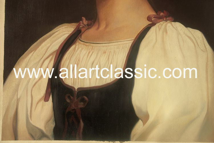 Art Reproductions Leighton_01N_B. Our Oil Painting Reproduction -Zoom Details