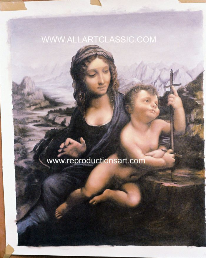 Da Vinci Painting Work sample