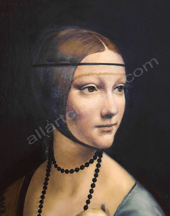 Leonardo da Vinci Painting Work sample