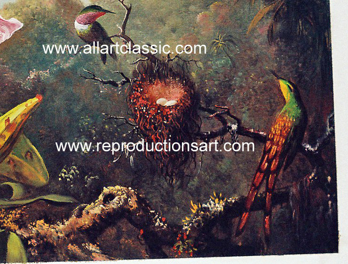 Oil Painting Reproductions Martin Johnson Heade Paintings