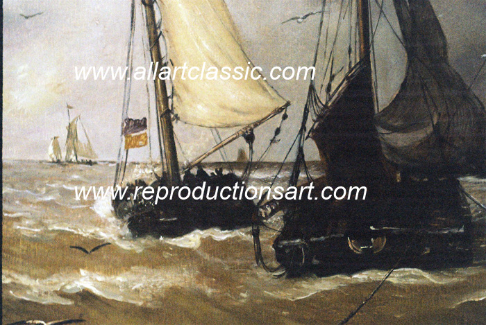 Oil Painting Reproductions Hendrik Willem  Mesdag