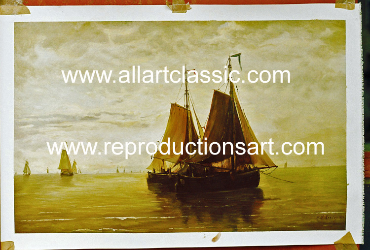 Oil Painting Reproductions of Hendric Willem Mesdag Reproductions