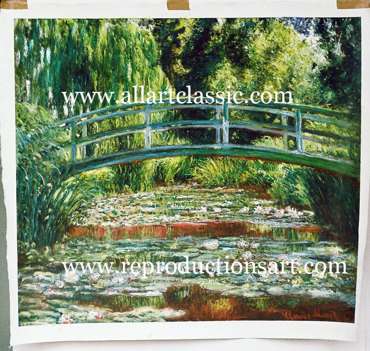 Monet Painting Work sample