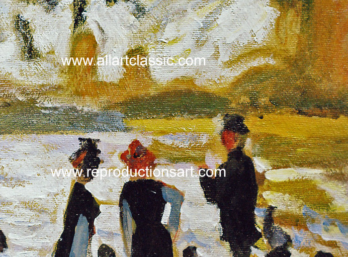 Art Reproductions Monet_122N_C. Our Oil Painting Reproduction -Zoom Details