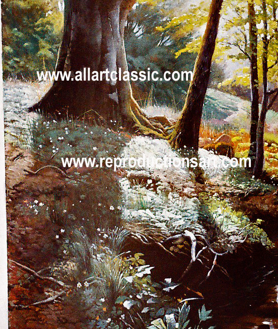 Oil Painting Reproductions Peder Monsted
