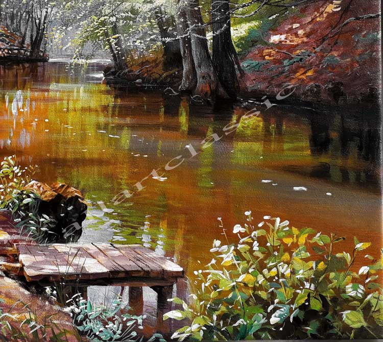 Oil Painting Reproductions Peder Mork Monsted