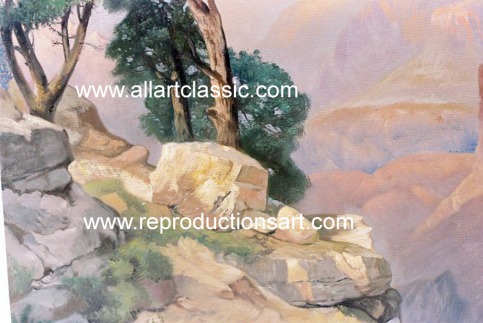 Oil Painting Reproductions Thomas Moran Painting