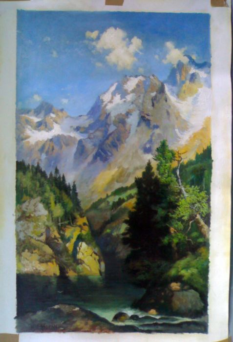 Oil Painting Reproductions of Thomas Moran Paintings Reproductions