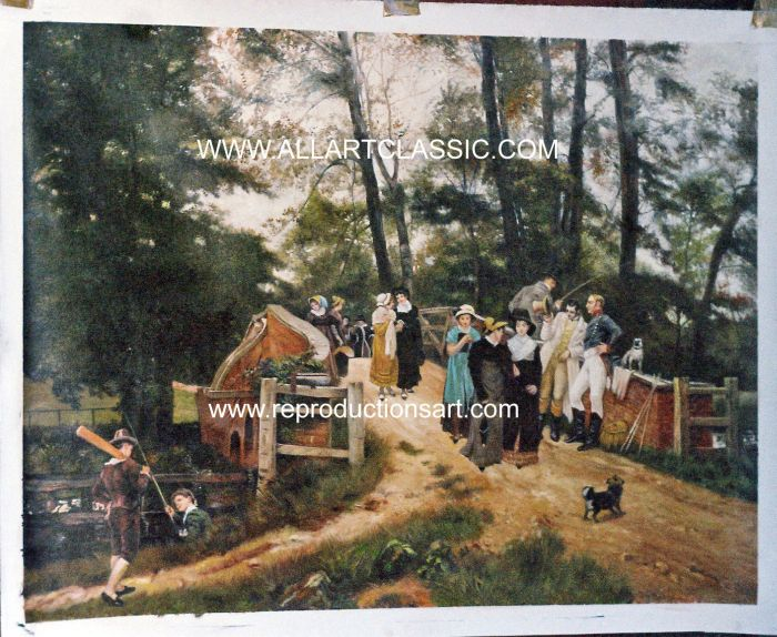 Oil Painting Reproductions of Frederick Morgan Paintings