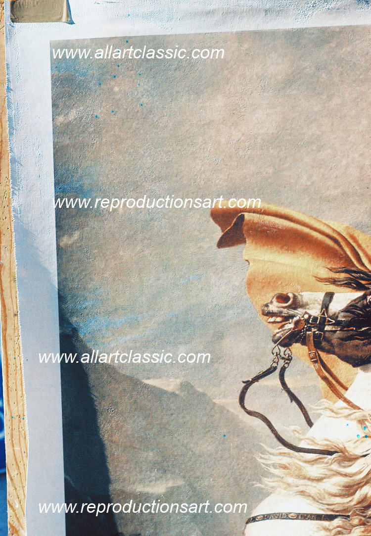 Art Reproductions Napoleon-Painting_A. Our Oil Painting Reproduction -Zoom Details