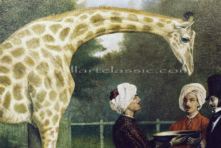 Art Reproductions Oil-painting-Agasse_L_A. Our Oil Painting Reproduction -Zoom Details