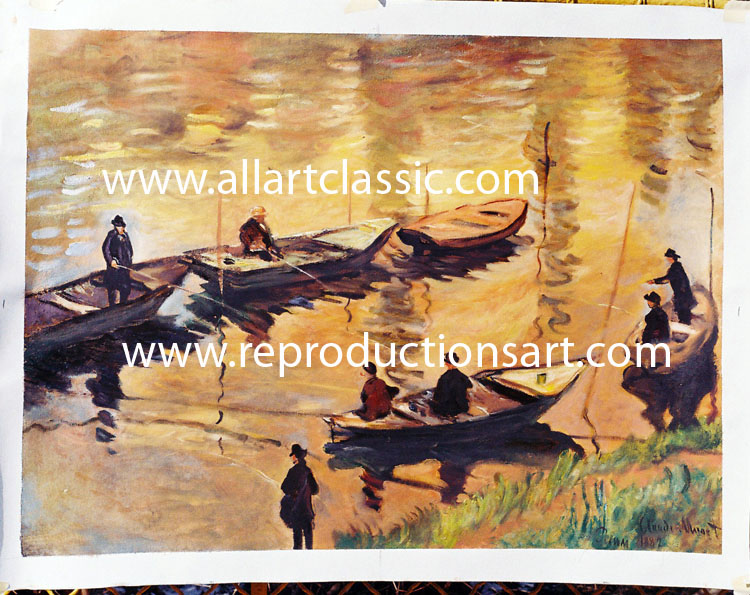 Monet Painting Work sample