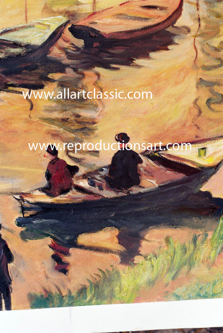 Art Reproductions Oil-painting-Monet_N_B. Our Oil Painting Reproduction -Zoom Details