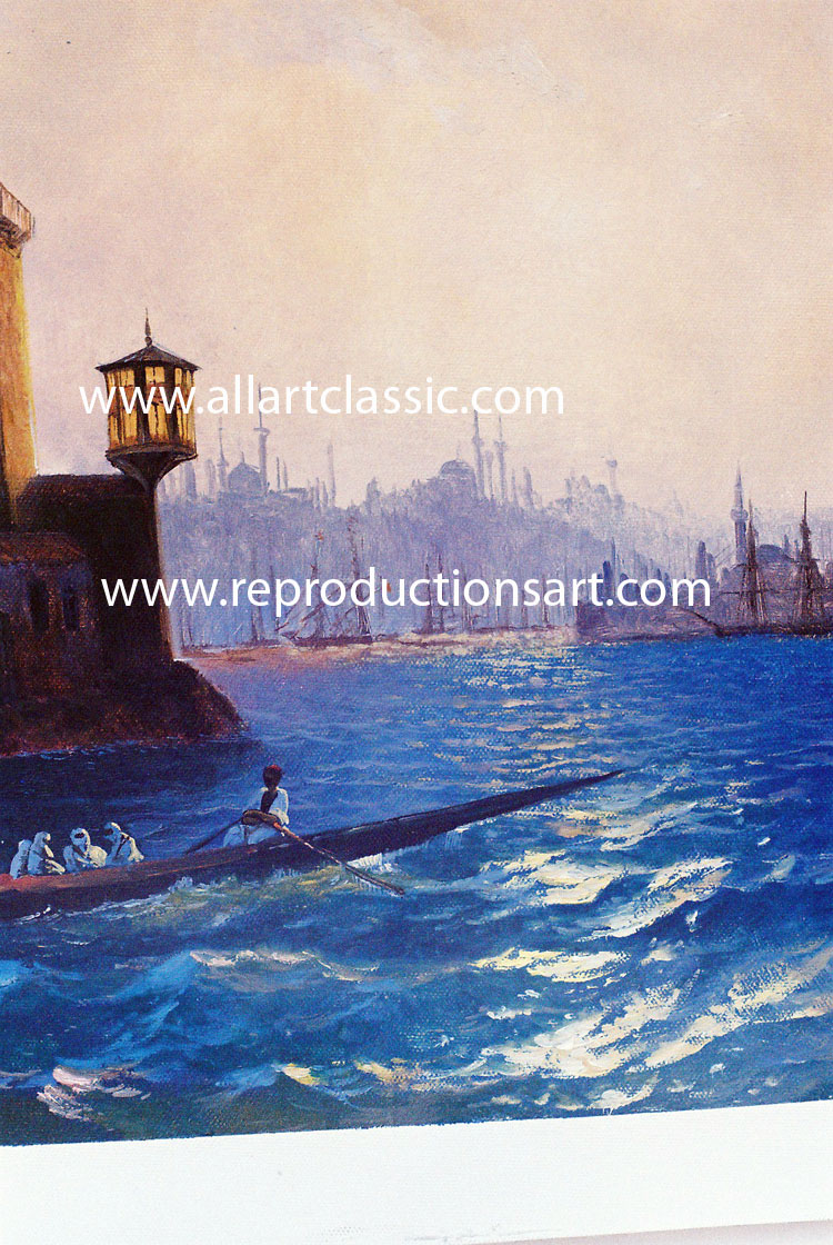Art Reproductions Oil-painting_Aivazovsky_N_B. Our Oil Painting Reproduction -Zoom Details