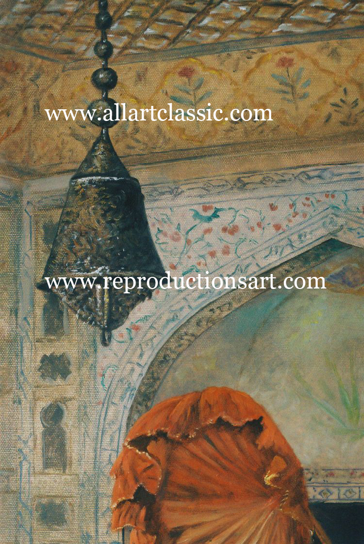 Art Reproductions Orientalism-painting_B. Our Oil Painting Reproduction -Zoom Details