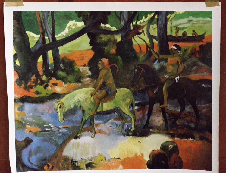 Oil Painting Reproductions of Paul Gauguin Paintings