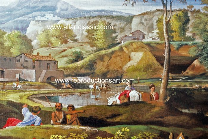 Oil Painting Reproductions Nicolas Poussin Paintings