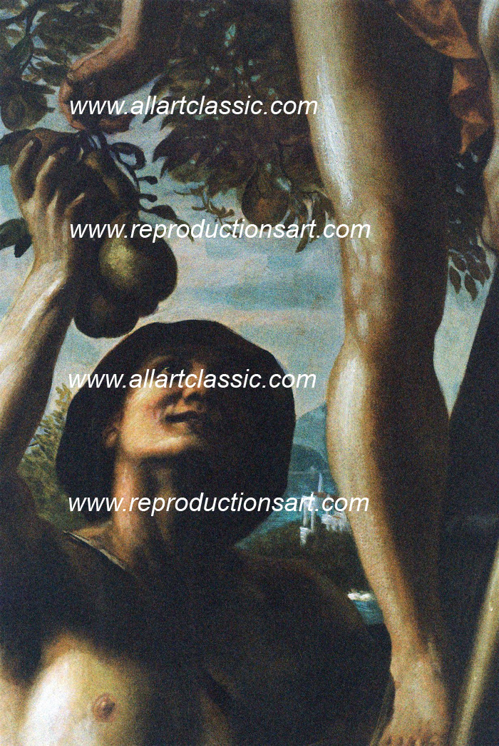 Art Reproductions Poynter-painting_C. Our Oil Painting Reproduction -Zoom Details