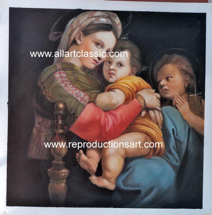 Raphael Painting Work sample