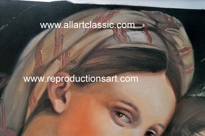 Art Reproductions Raphael_017N_A. Our Oil Painting Reproduction -Zoom Details