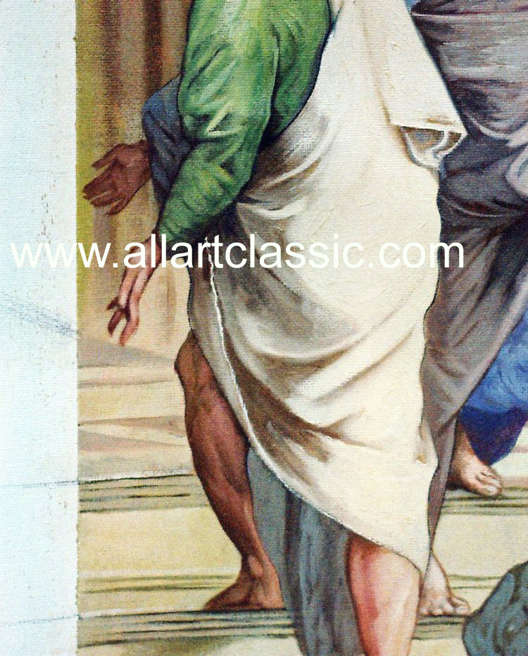 Art Reproductions Raphael_Paintings_003N_C. Our Oil Painting Reproduction -Zoom Details