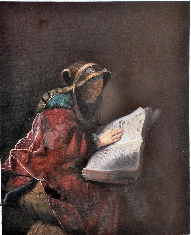Rembrandt Painting Work sample