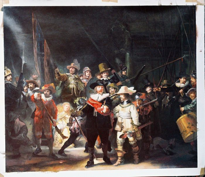 Oil Painting Reproductions of Rembrandt Paintings