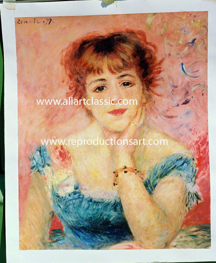 Renoir Painting Work sample