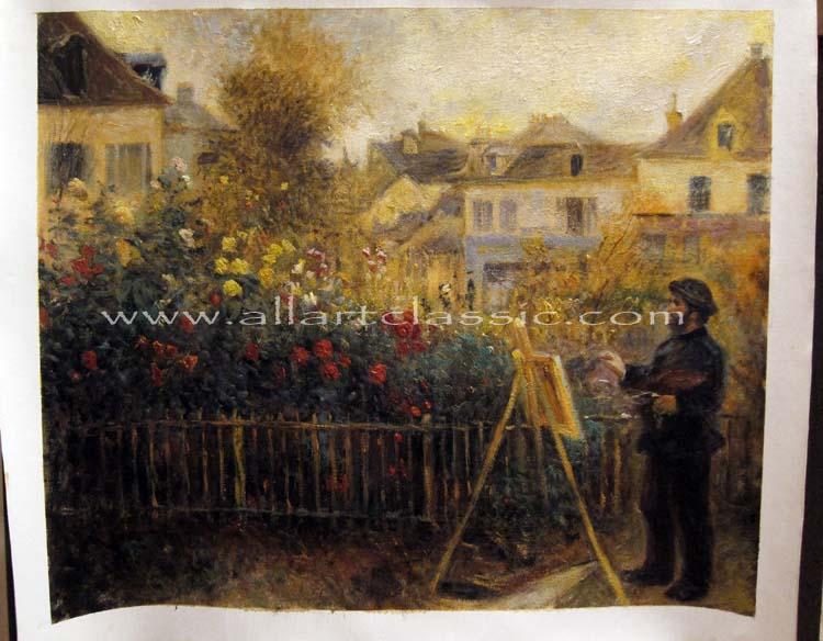 Pierre Auguste Renoir Painting Work sample