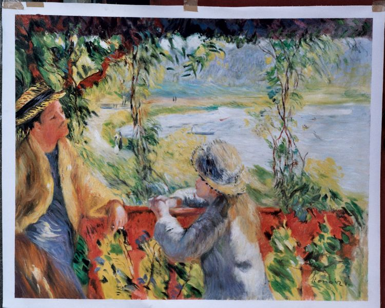 Renoir Painting Worksample