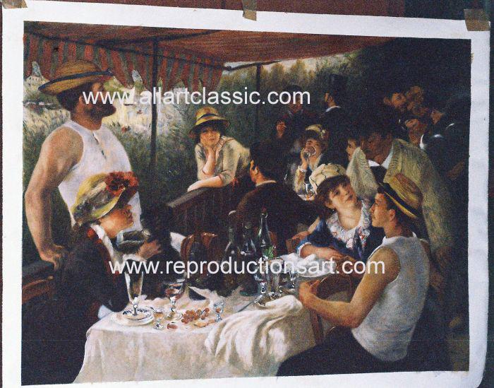Renoir Painting Worksample