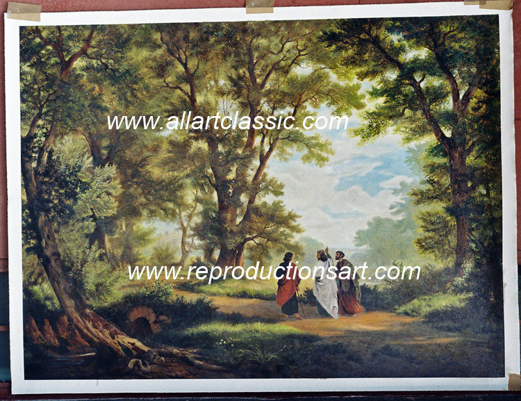 Robert Zund Painting Work sample